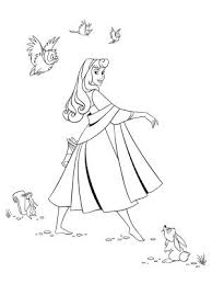 Imprimer des coloriages de La princesse Aurore