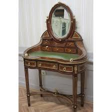 bureau secretaire antique secrétaire antique style baroque bureau plat louis xv mosc0520