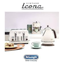 Delonghi Kettle And Toaster Sets Delonghi Vintage Cream Kettle 9815