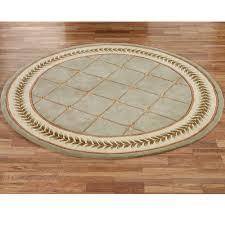Cream Round Rug Floors U0026 Rugs Green Round Area Rugs For Minimalist Flooring