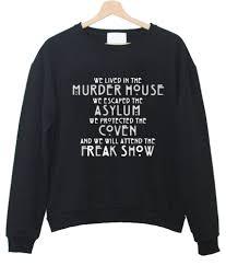 horror story sweatshirt 2