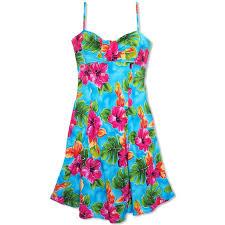 Tropical Themed Clothes - plus size hawaiian dress lavahut