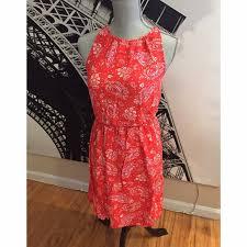 52 off old navy dresses u0026 skirts cute orange red bandana