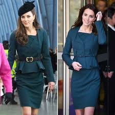 duchess kate duchess kate recycles emilia wickstead dress kate middleton debuts a new haircut and recycles her outfit at a