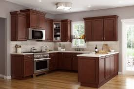 Youngstown Cocoa Cabinets LifeDesign Home - Basic kitchen cabinets