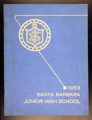 junior high yearbooks santa barbara junior high school condor yearbook santa barbara