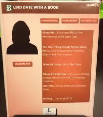 Seeking Blind Date Blind Dating At The Georgetown Library District Of Columbia