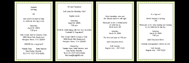 birthday invitation template best template collection