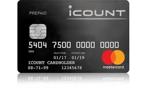 prepaid mastercard prepaid mastercard from icount