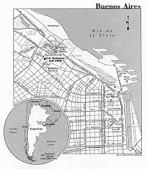 Buenos Aires Map Argentina Maps Perry Castañeda Map Collection Ut Library Online