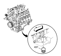 repair instructions off vehicle oil filter and adapter
