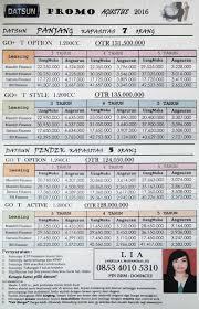 nissan finance simulasi kredit datsun manado telp 085340105310 anjellia maidangkay ss