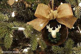 deer ornament uncommon designs