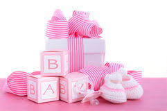 baby showers for girl baby girl shower stock photo image of bottle 1859334
