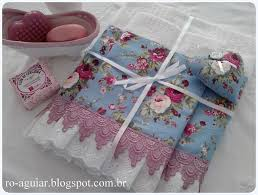Shabby Chic Bath Towels by 162 Best Lace Victorian French U0026 Shabby Chic Hand Towels Images