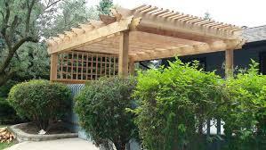 Pre Built Pergola by Western Red Cedar Pergolas