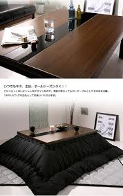 Glass Center Table by Lumos Rakuten Global Market Table Low Tables Kotatsu 105 X 75