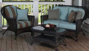 Wicker Outdoor Patio Furniture Fabulous Design Ideas For Black Wicker Outdoor Furniture Concept