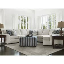 Interior Fabrics Austin City Furniture Austin White Fabric Small Right Cuddler Sectional