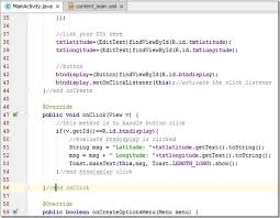 android onclick kerul net creating a new android studio project