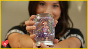 how to make snow globes kid crafts ft homemademimi youtube