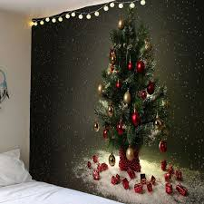 Christmas Wall Pictures by Christmas Fireplace Print Wall Tapestry Colormix W Inch L Inch