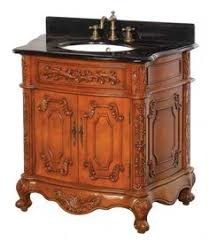 50 Inch Bathroom Vanity by Adelina 50 Inch Antique Style Bathroom Vanity Fully Assembled