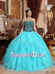 unique quinceanera dresses aqua blue ruffled quinceanera party dresses with embroidery
