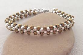beads bracelet easy images Learn brick stitch with this easy bracelet project jpg