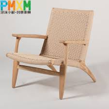 upscale casual recliner chair simple and stylish handmade woven