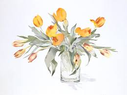 Clipart Vase Of Flowers How To Draw Flowers Artistdaily