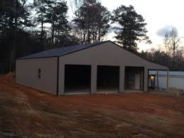 Gambrel Pole Barns Custom Built Pole Barns Deep South Buildings