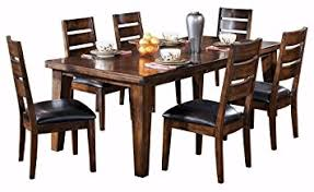 old world dining room tables amazon com ashley furniture signature design larchmont dining
