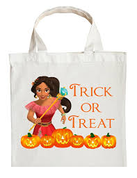 personalized halloween treat bags princess elena trick or treat bag personalized princess elena