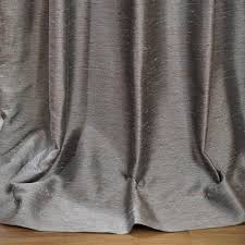 Faux Dupioni Silk Curtains Buy Pacific Storm Yarn Dyed Faux Dupioni Silk Curtains