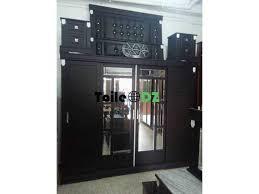 chambre a coucher porte coulissante chambre a coucher 4 portes coulissantes black édition koléa