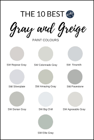 best greige cabinet colors sherwin williams the 10 best gray and greige paint colours