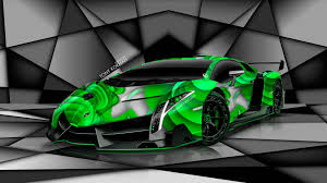 cartoon lamborghini veneno lamborghini veneno green wallpaper free i hd images