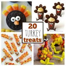20 thanksgiving turkey treats my style