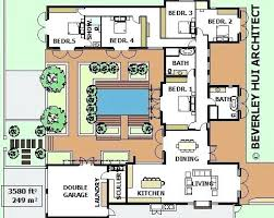 u shaped floor plans with courtyard u shaped house plans compound home plans compound home plans fresh
