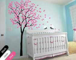 Nursery Wall Tree Decals Modern Baby Nursery Wall Tree Decal Hedgehog Mural Sticker Decor