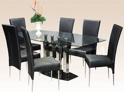 Modern Square Dining Room Sets Square Glass Dining Table Designs