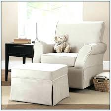 Baby Glider And Ottoman Set Extraordinary Baby Glider And Ottoman Nursery Rocking Chair