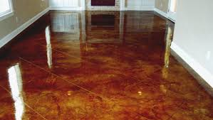Concrete Floor Ideas Indoors Staining Concrete Bat Floor Gray Brown Stained Concrete Floors