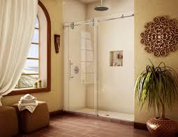 sliding glass shower door installation repair va md dc sliding shower doors 08