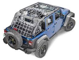 2017 jeep wrangler rugged exterior rugged ridge 13552 71 cargo net for 07 18 jeep wrangler unlimited