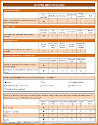 7 excel survey template receipt templates