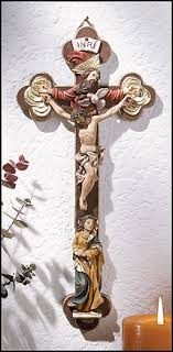 wall crucifixes with holy wall crucifix