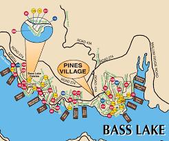Fresno Ca Zip Code Map Bass Lake California Map California Map