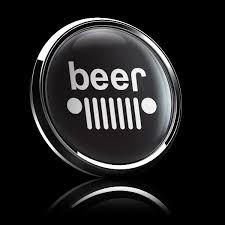 jeep black emblem dome badge jeep black